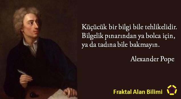 Alexander Pope - Fraktal Alan Bilimi