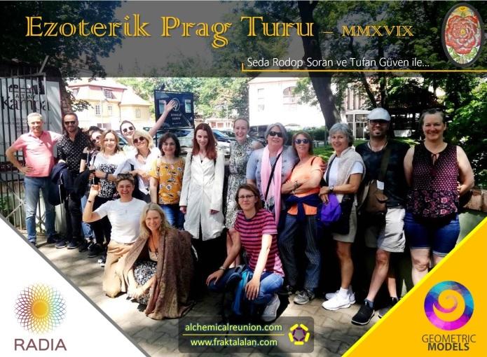 Ezoterik Prag Turu - Grup resmi